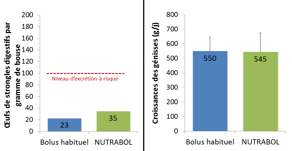 Nutrabol antiparasitaire genisses